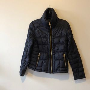 Michael Kors Blue down coat size L